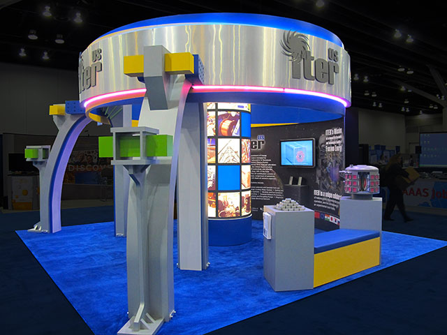 ITER Tradeshow Booth