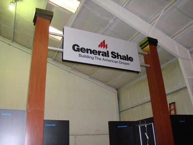 General Shale Signage