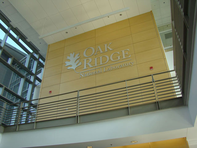 ORNL Wall Signage