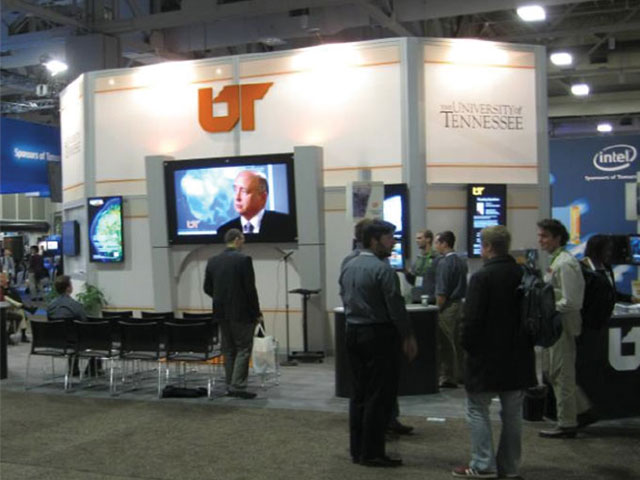 University of Tennessee A/V Display