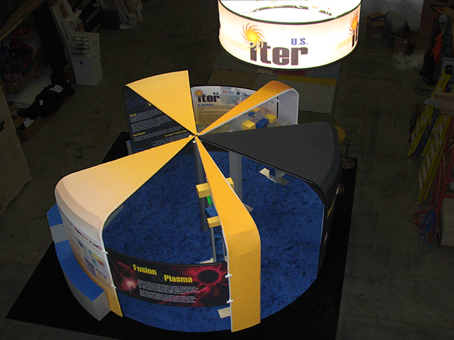 ITER Booth Top View