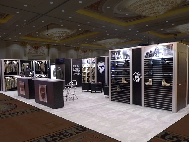 Tactical Holdings Booth