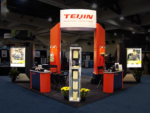 Teijin Booth 2
