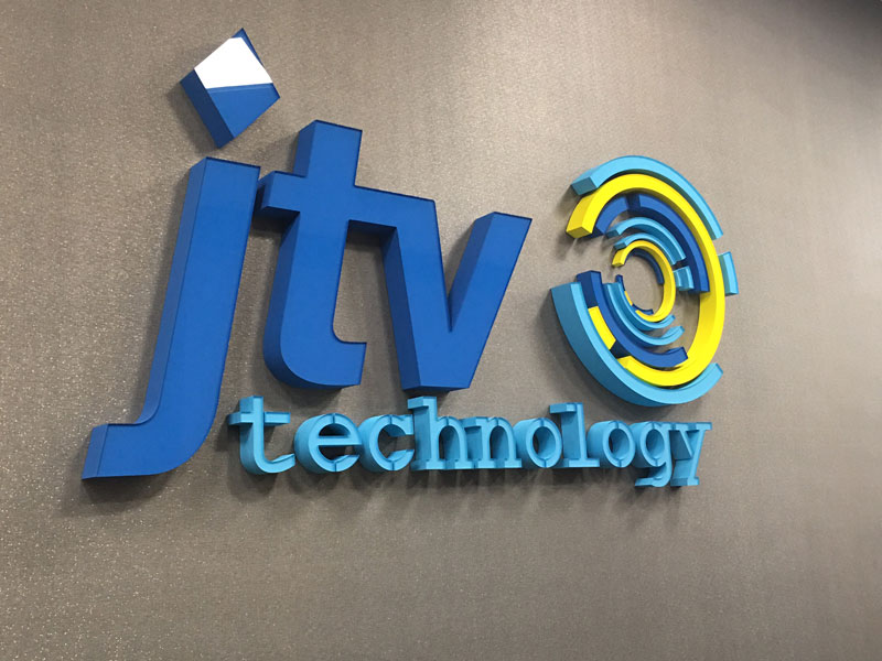 JTV Technology Custom Fabrication Signage