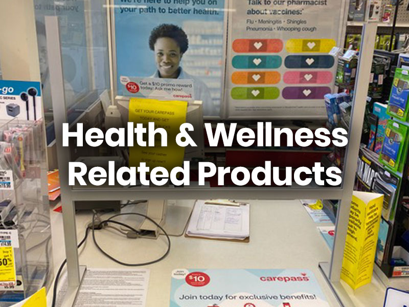 Health & Wellness Related Products